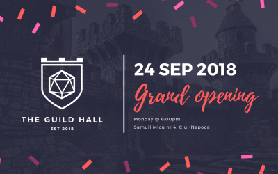 The Guild Hall Grand Opening Week