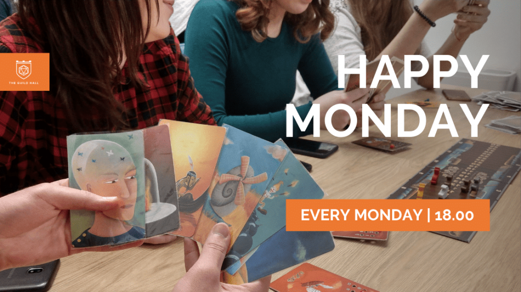 Happy Monday at The Guild Hall