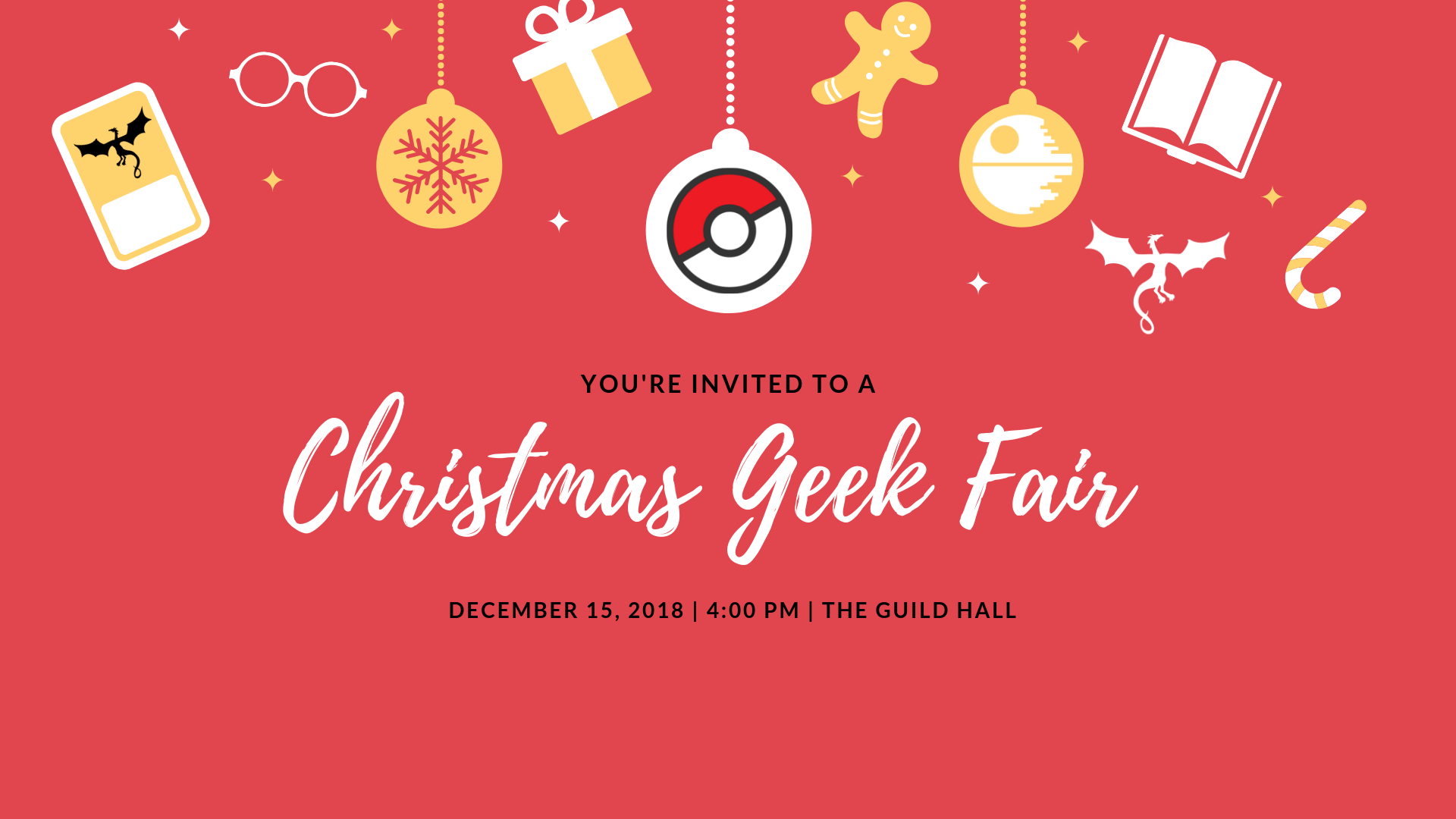 Christmas Geek Fair