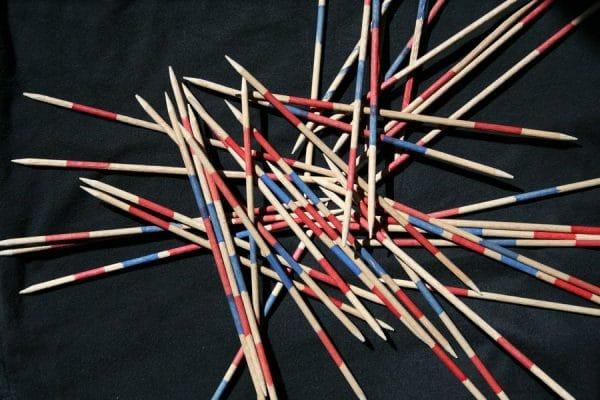 Mikado – pick-up sticks