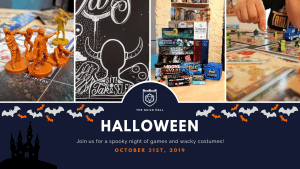 Halloween Party 2019 @The Guild Hall