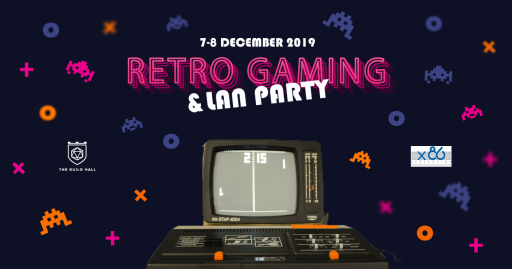Retro Gaming and LAN Party
