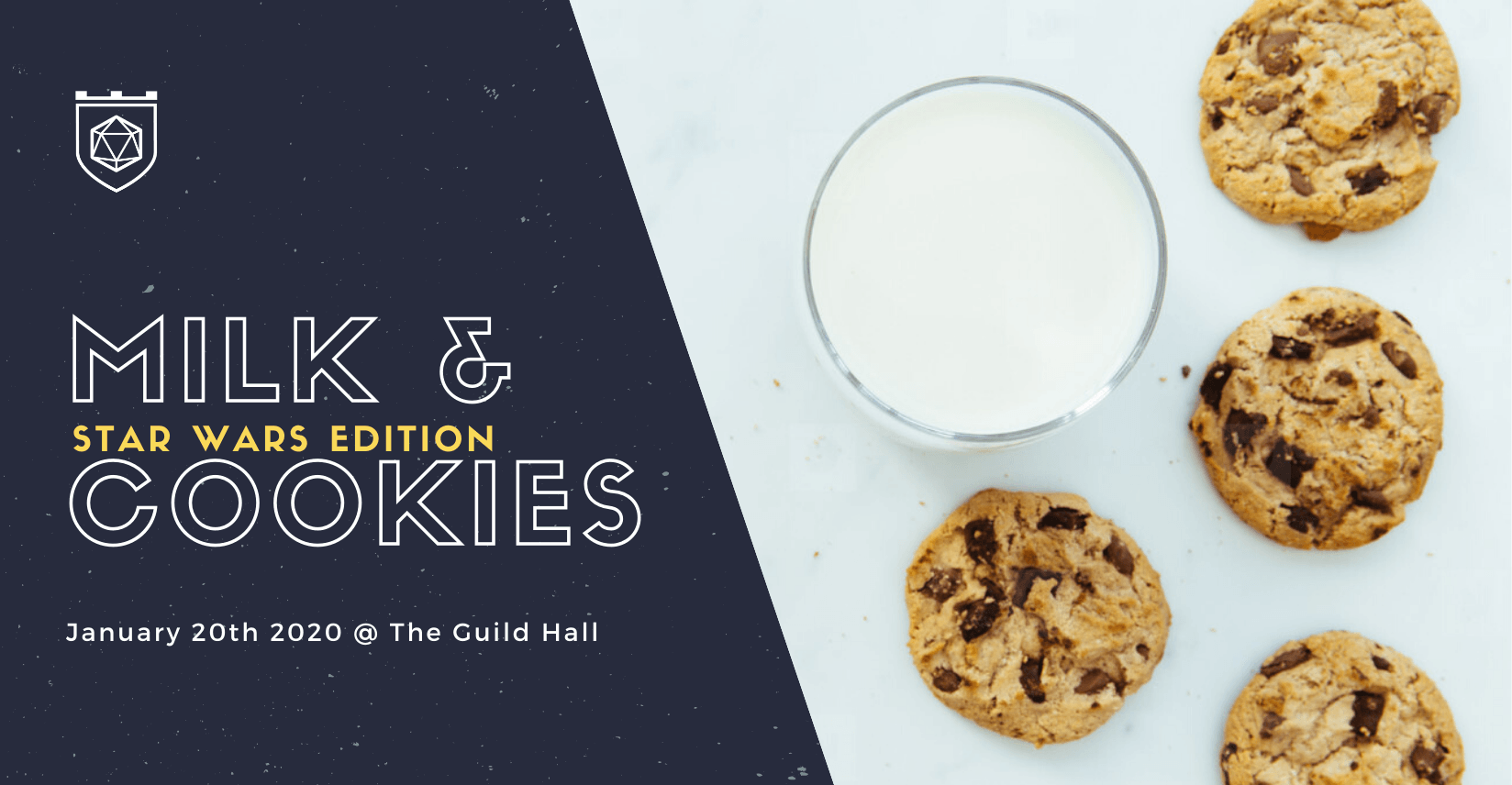 Milk & Cookies Star Wars Edition