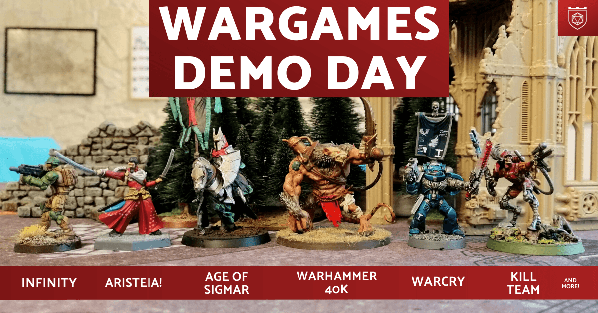 Wargames Demo Day
