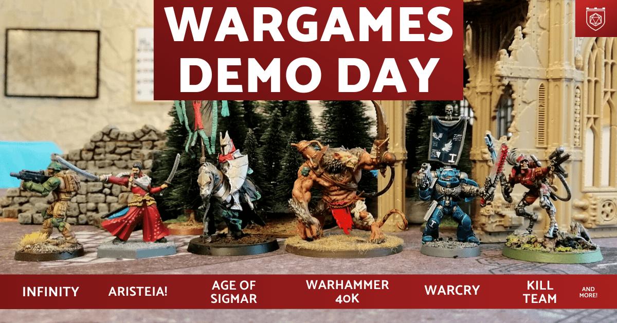 Wargames Demo Day