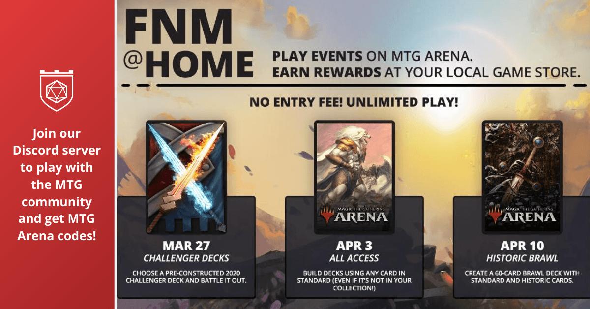 FNM@Home MTG Arena