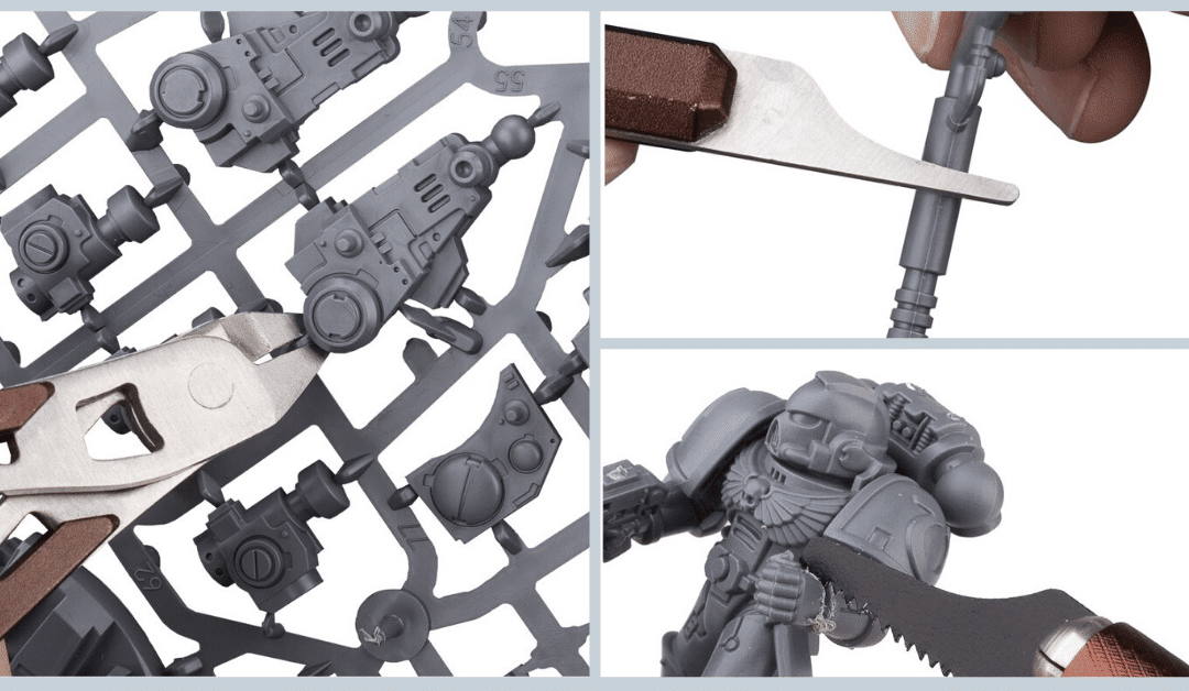 Useful tools for assembling your miniatures
