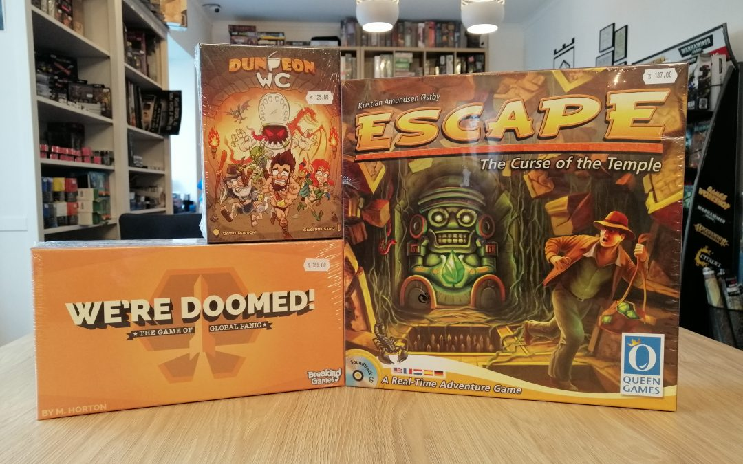 3 of the best short and fast board games