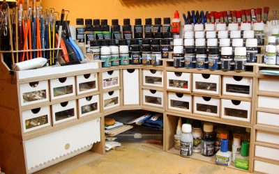 Useful tools for painting your miniatures