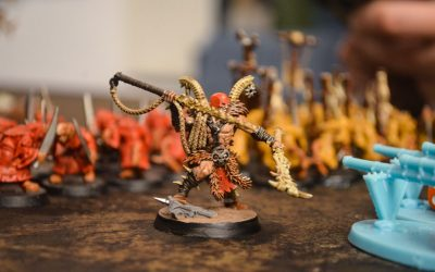Painting miniatures – How to use paint
