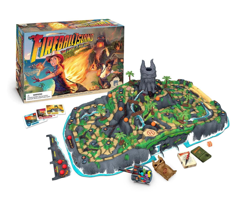 Fireball Island board game