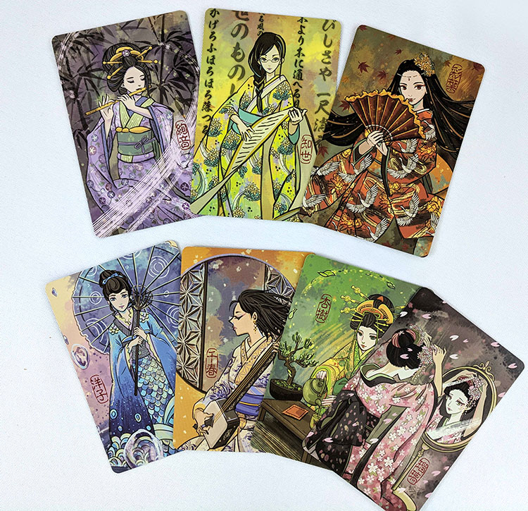 Hanamikoji board game