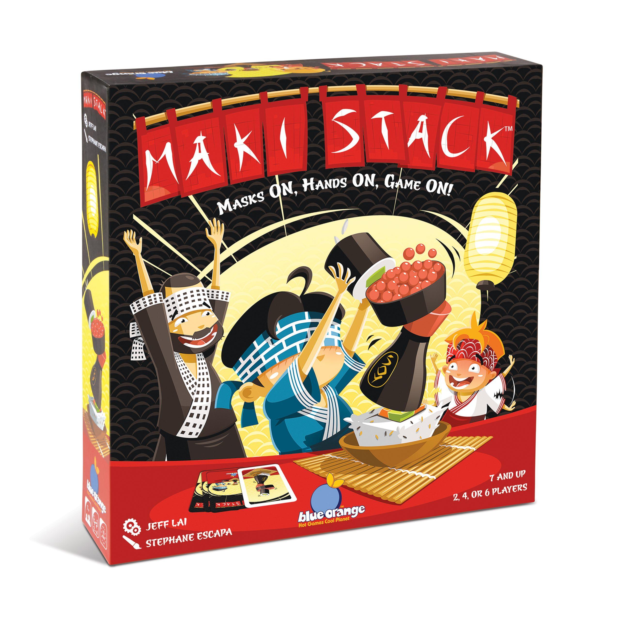 Maki Stack board game