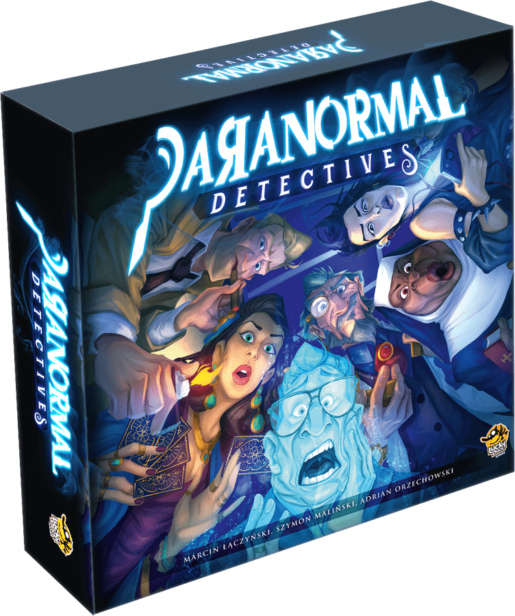 Paranormal detectives board  game