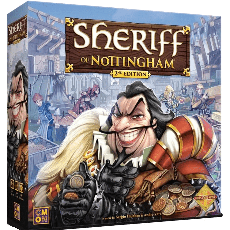 Sheriff of Nottingham (Second Edition) board game