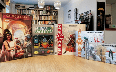 Our favourite strategy board games