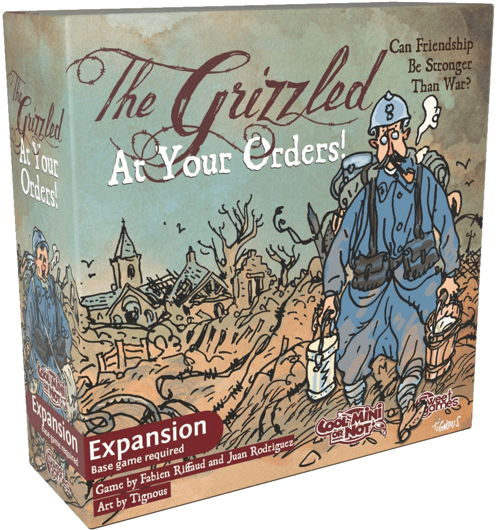 The Grizzled At Your Orders board game