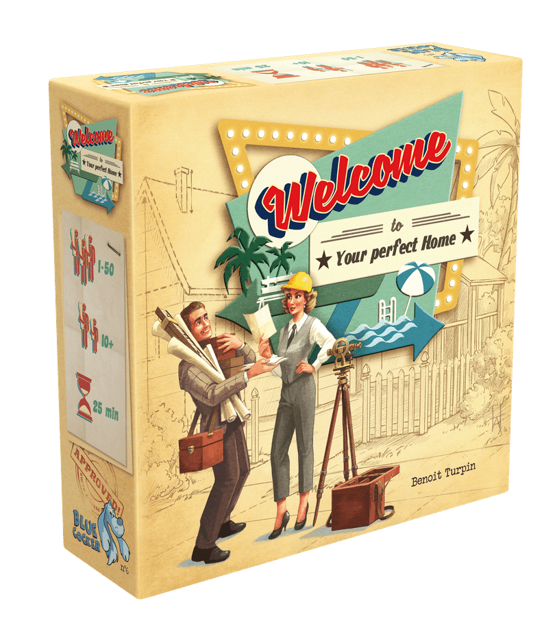 Welcome to… board game