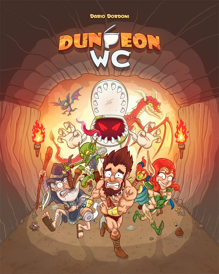 Dungeon wc board game