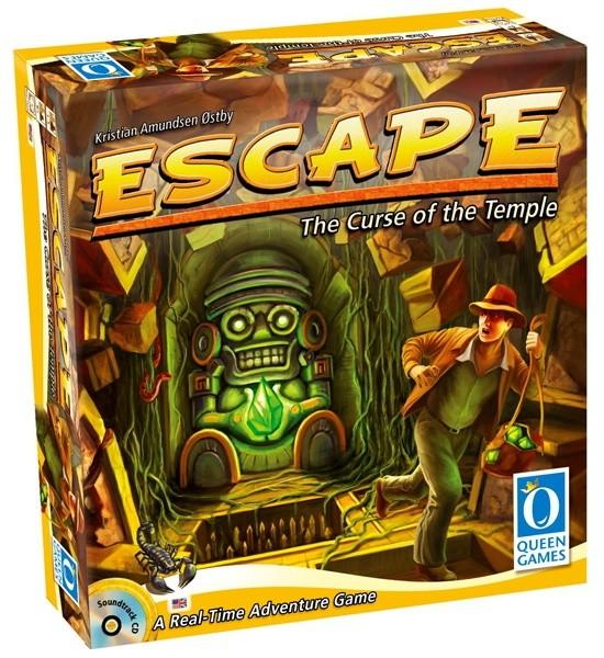 Escape The Curse of the Temple board game