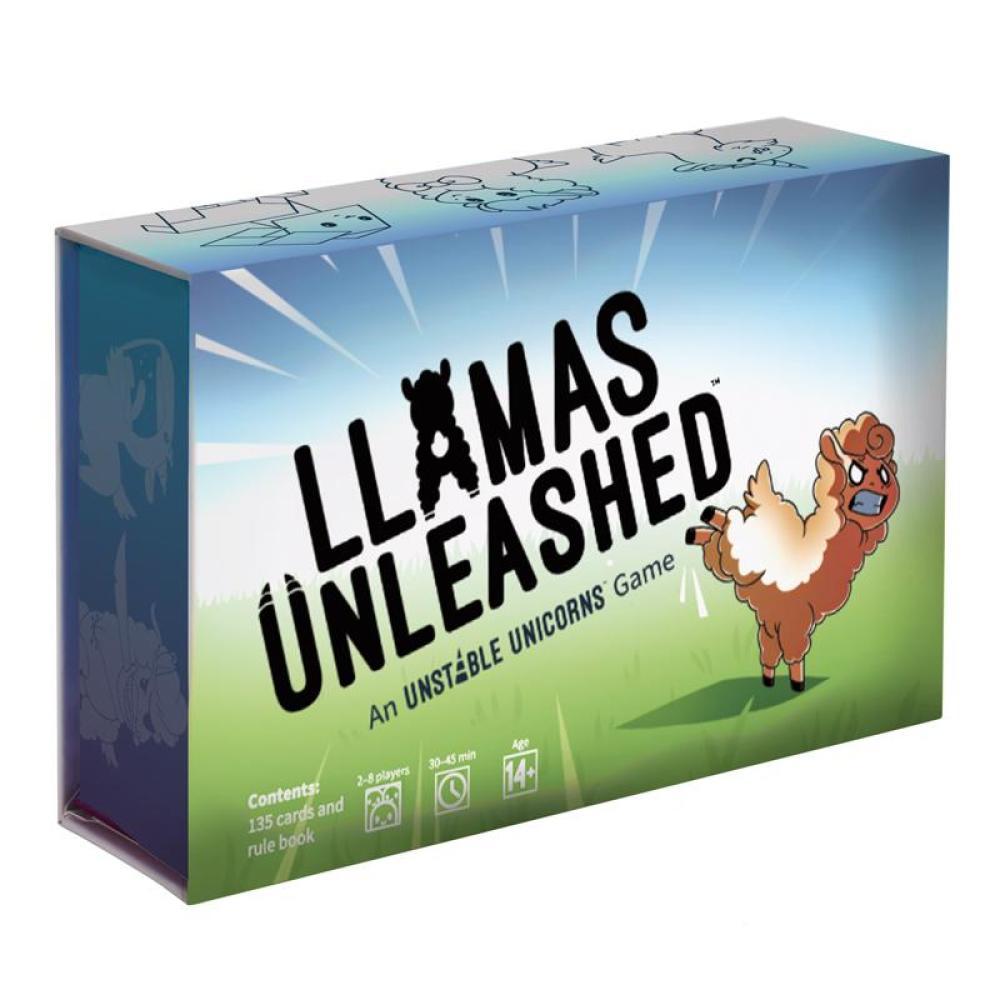 Llamas Unleashed board game
