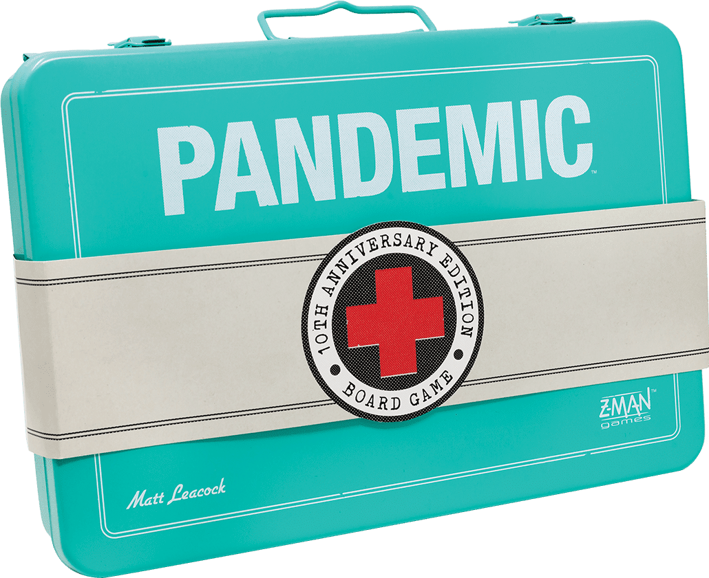 Pandemic 10th Anniversary board game