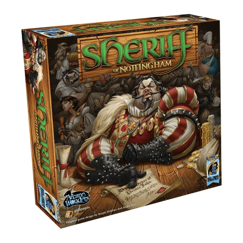 Sheriff of Nottingham 1st Edition board game