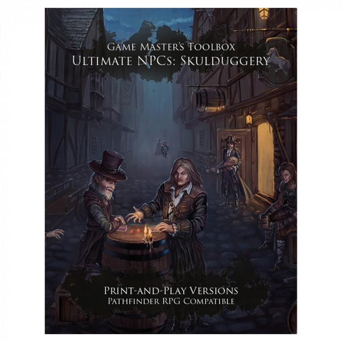 Ultimate NPCs: Skulduggery