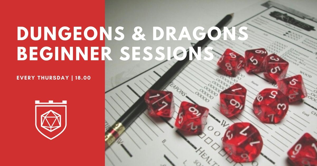 Role-Playing Games Beginner Sessions