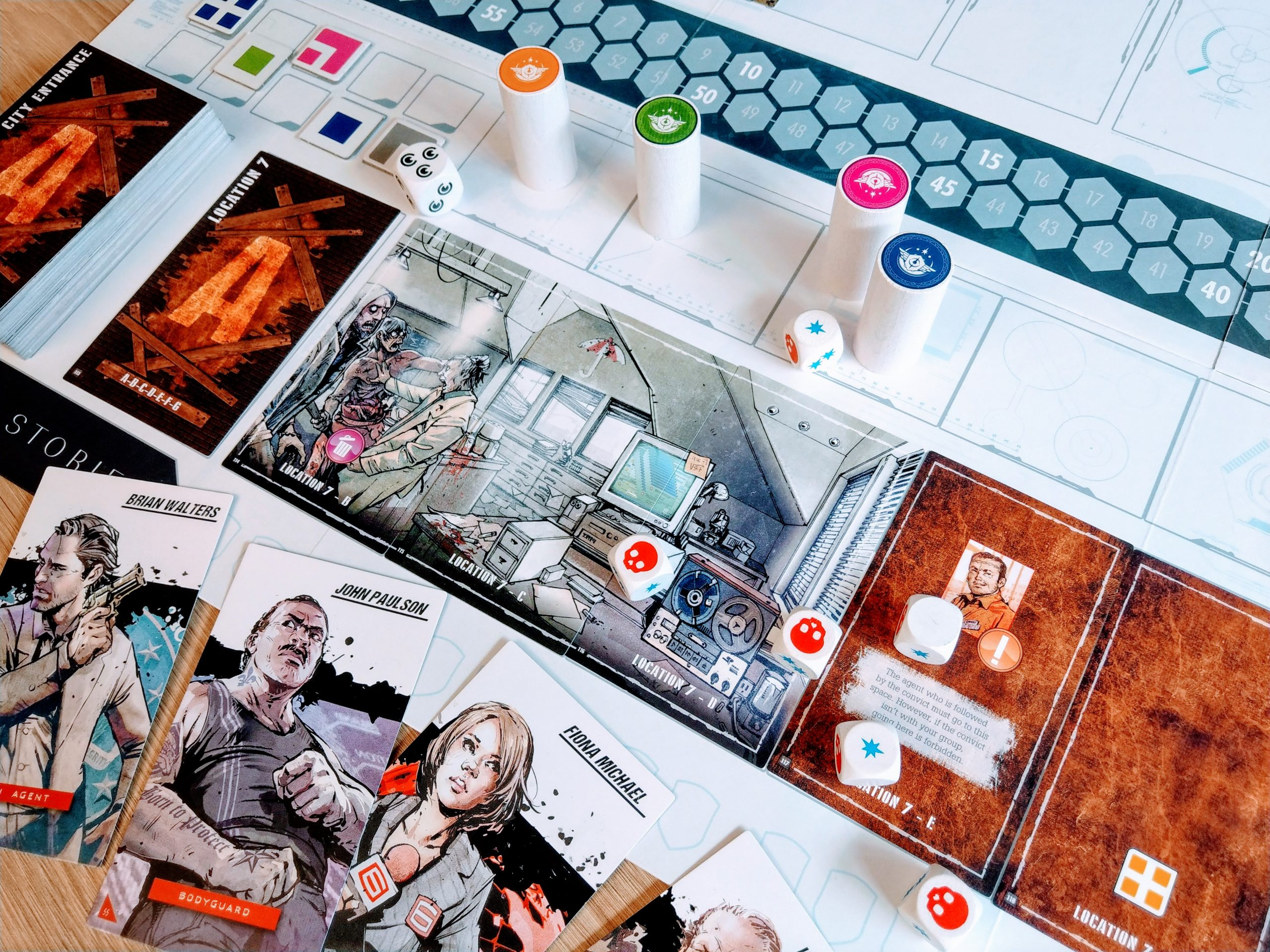 T.I.M.E Stories board game snapshot