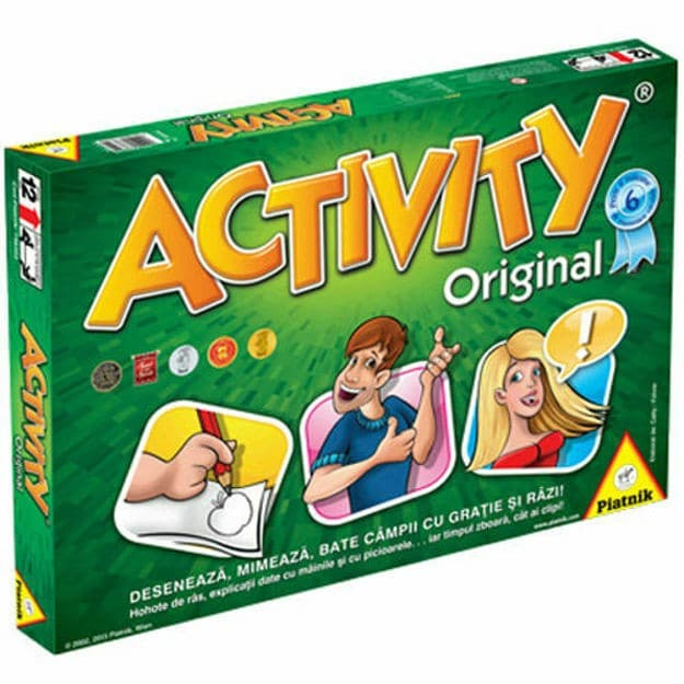Activity board game