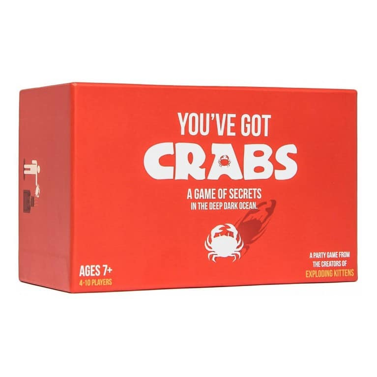 Crabs board game