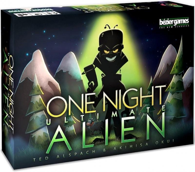 One Night Ultimate Alien board game