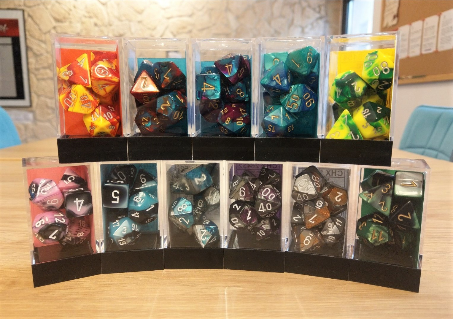 Dungeons and Dragons Gift Guide Chessex gemini Dice