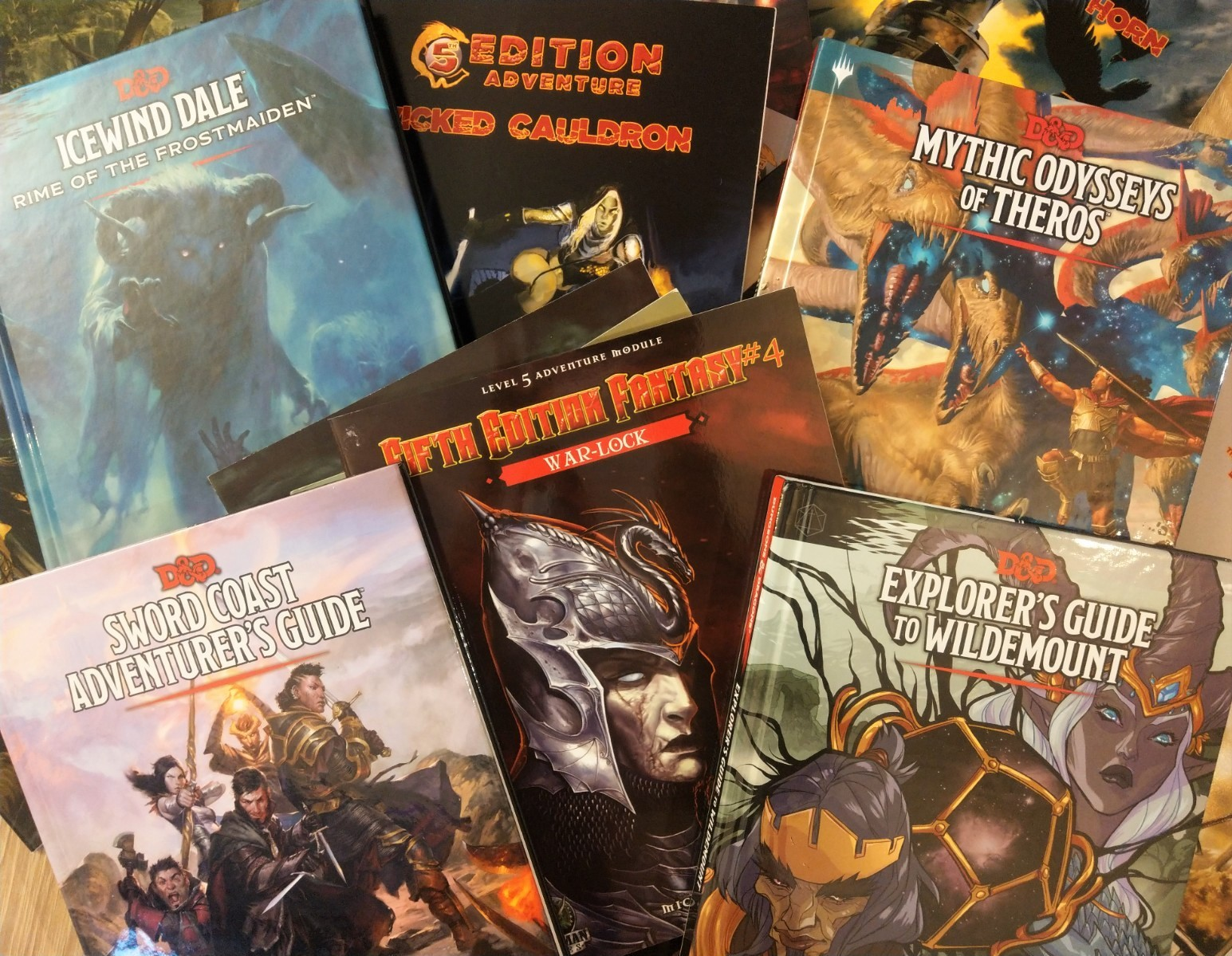 Dungeons and Dragons Gift Guide DnD Adventure source book