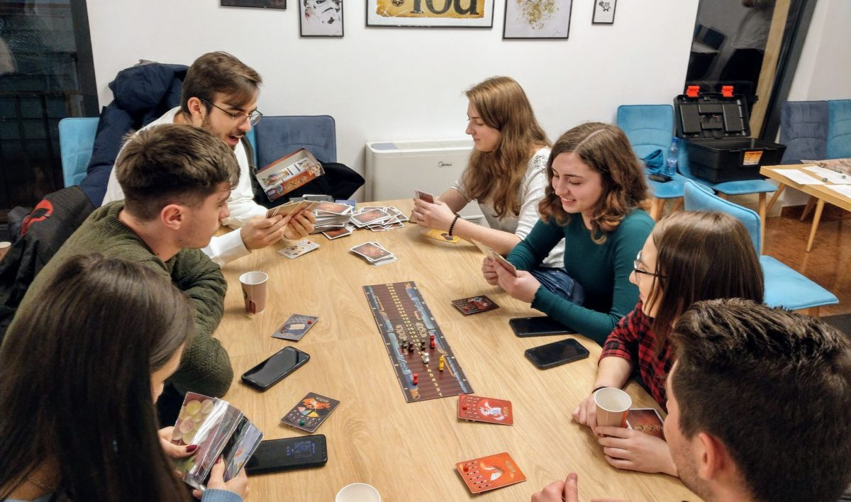 Board game night at The Guild Hall