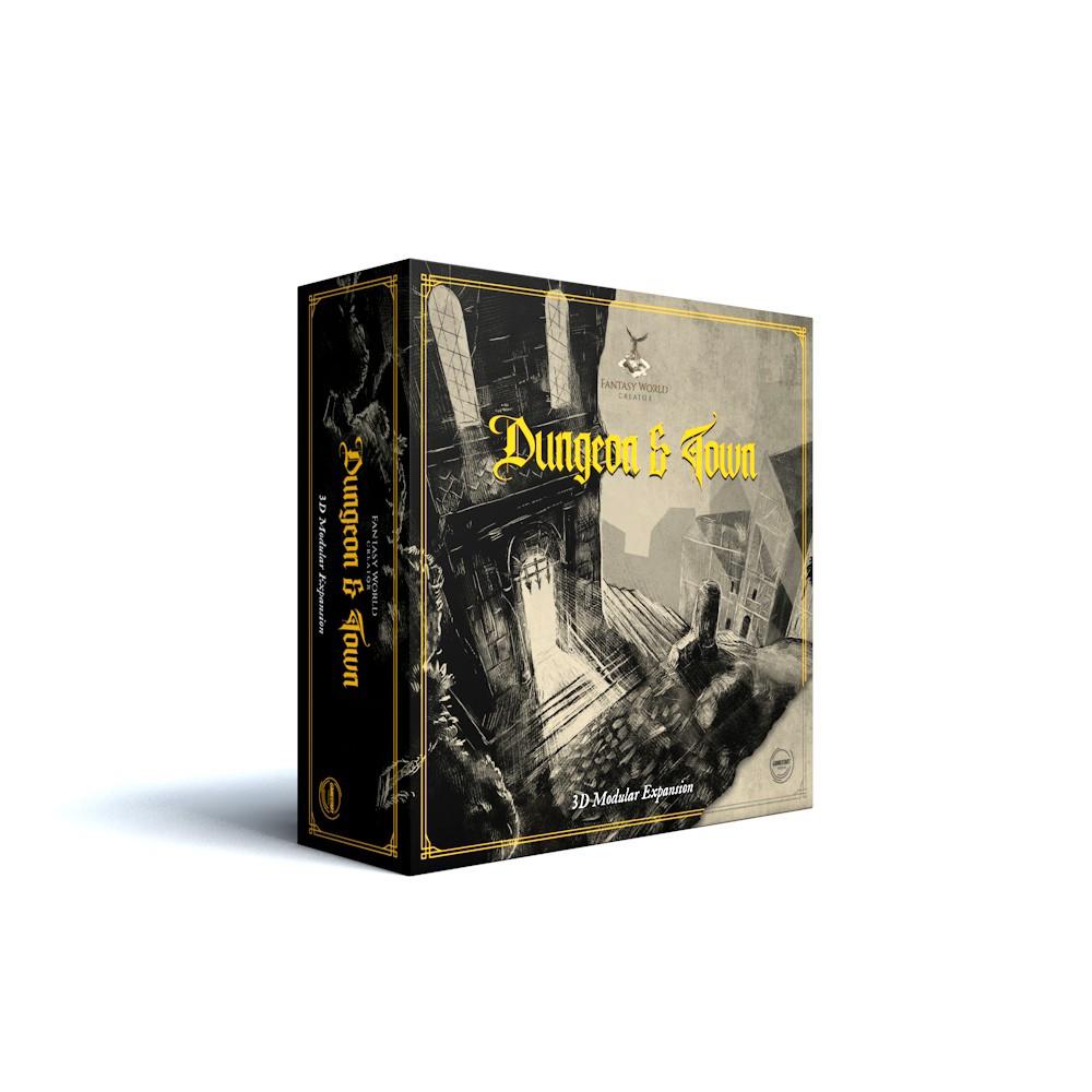 Fantasy World Creator Dungeon & Town