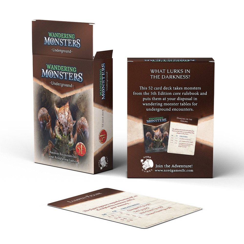 D&D wandering monsters