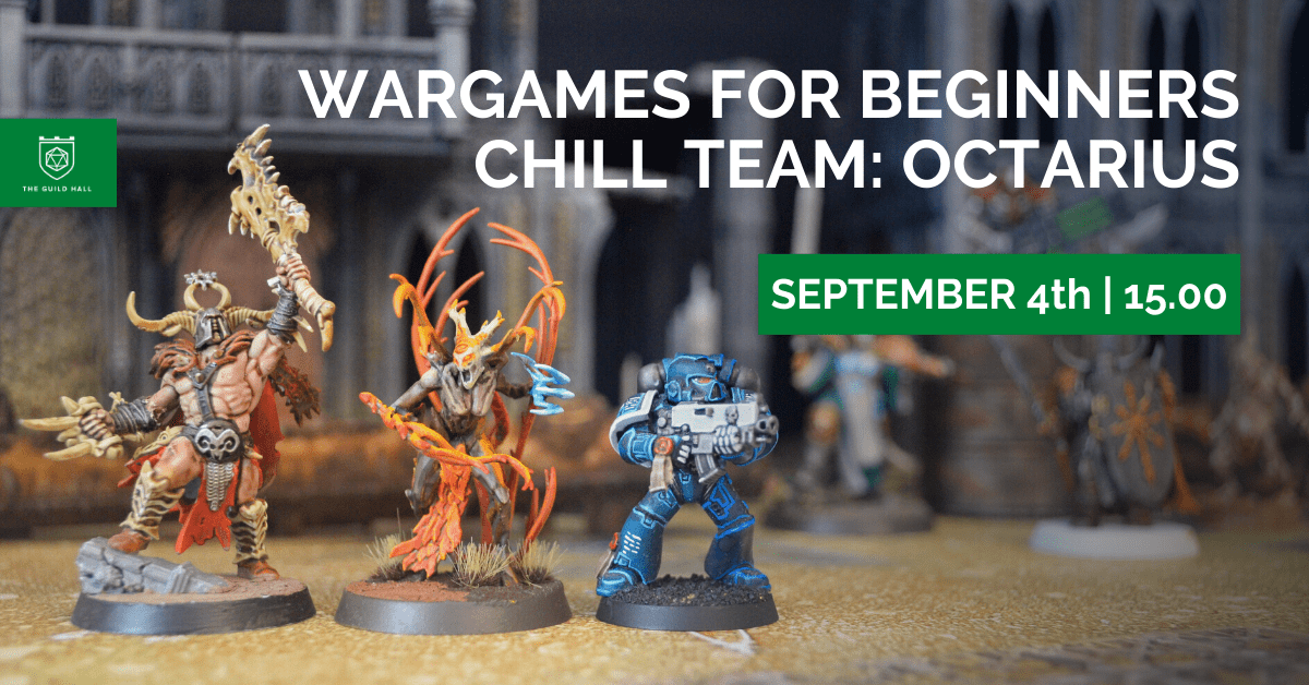 Wargames for beginners - Chill Team: Octarius