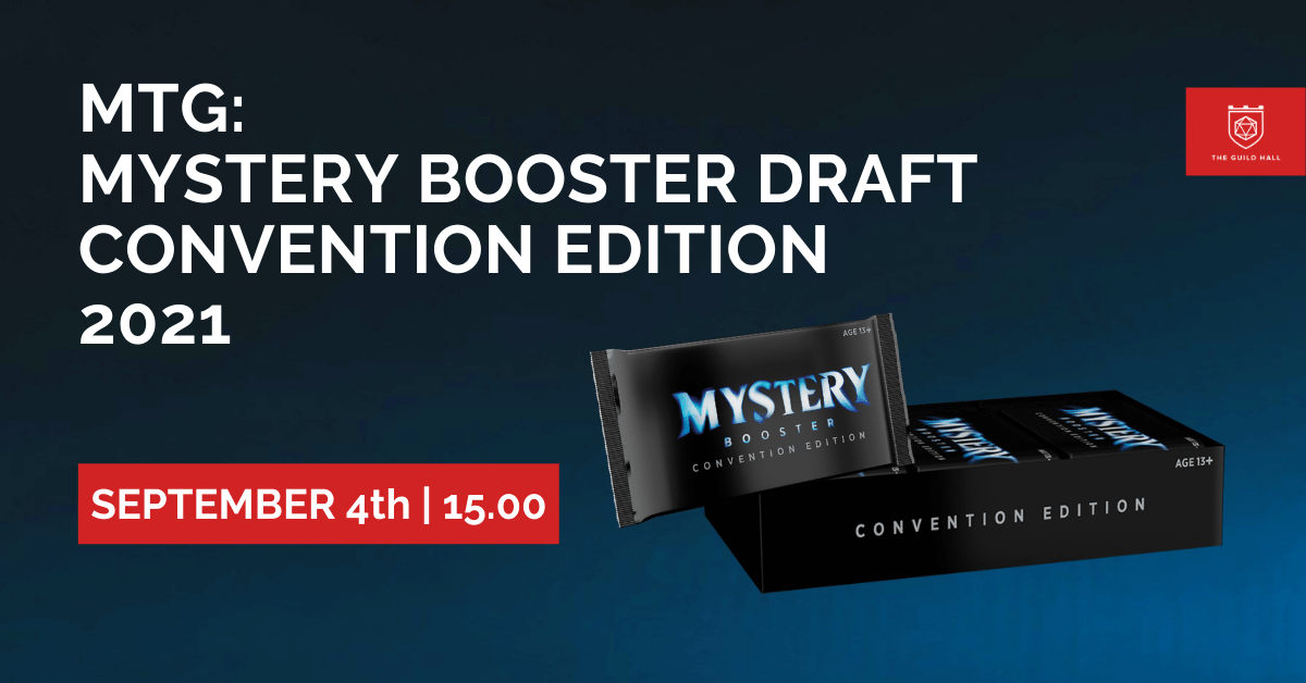 Mystery Boosters Draft Convention Edition 2021